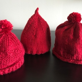 Little Hats, Big Hearts Knitting Project